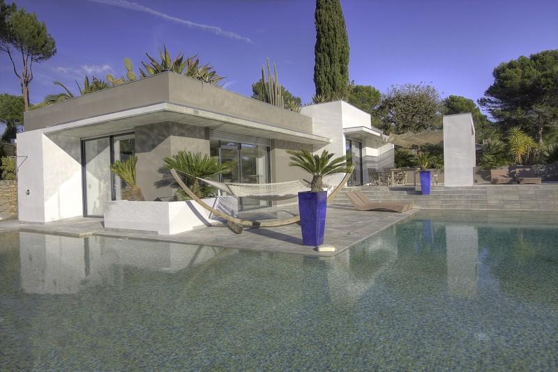 villa contemporaine pour événementiel cannes