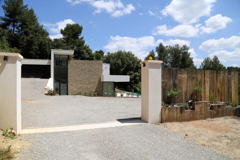 maison ultra moderne pour tournage de film