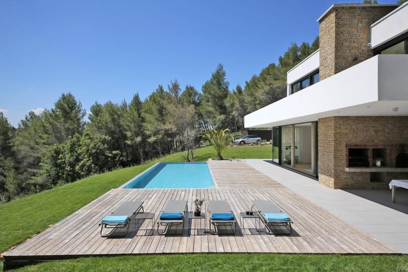 villa contemporaine tournage aix en provence