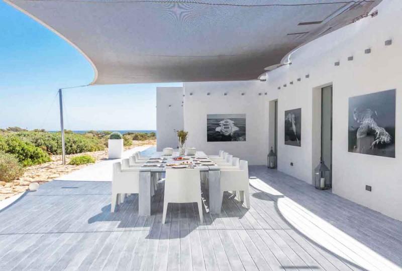 Villa Ultra Contemporaine Vue Mer Pour Photos Tournages Et V Nements Pro Ibiza Lieux Lieu