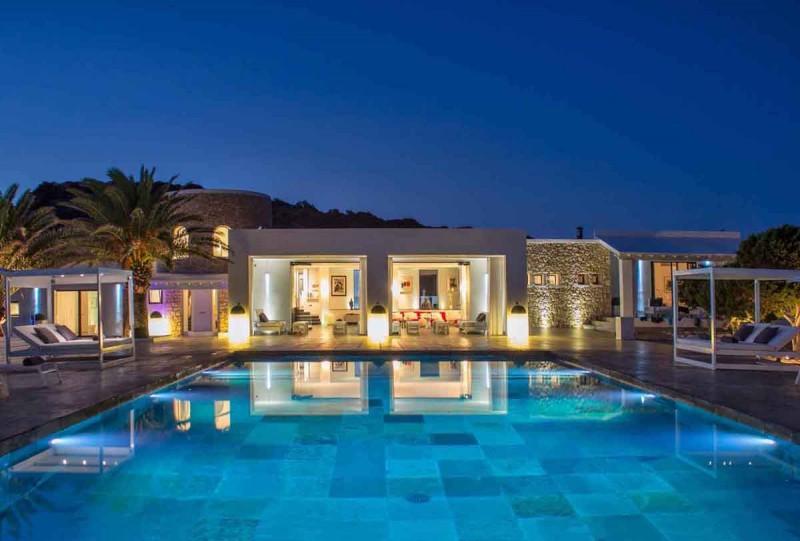 décor de film Ibiza