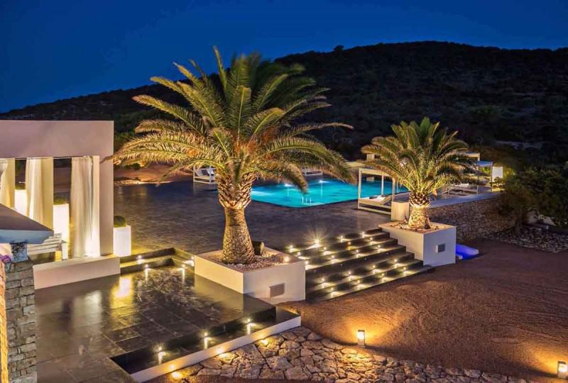 décor événementiel Ibiza