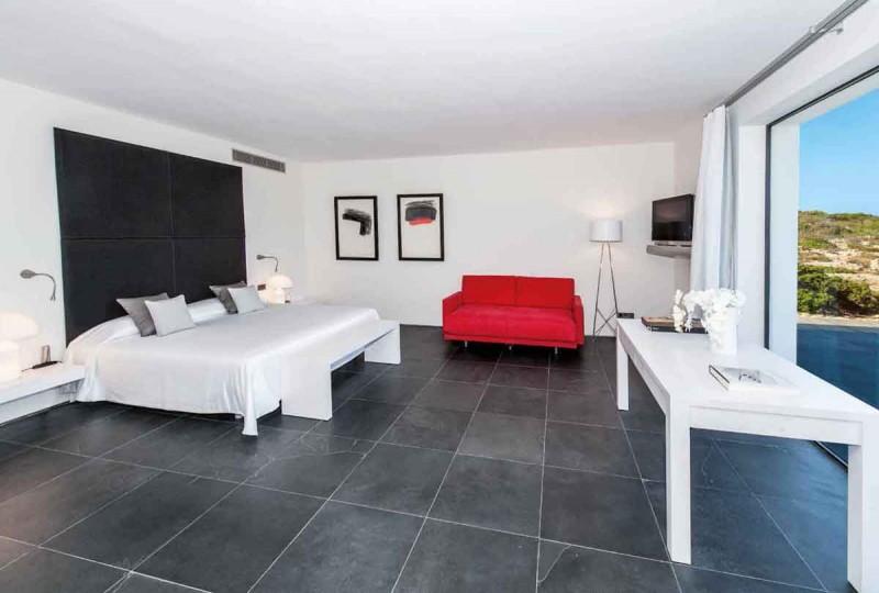 louer une maison très moderne pour des prises de vues photos Ibiza