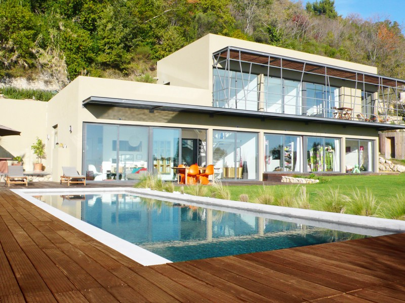 villa contemporaine pour photos Nice