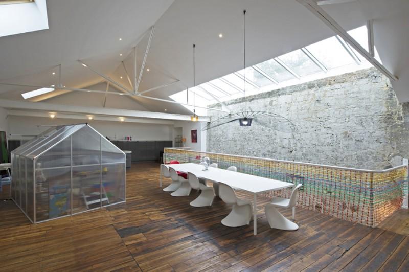 louer un loft contemporain avec beaux volumes pour tournages