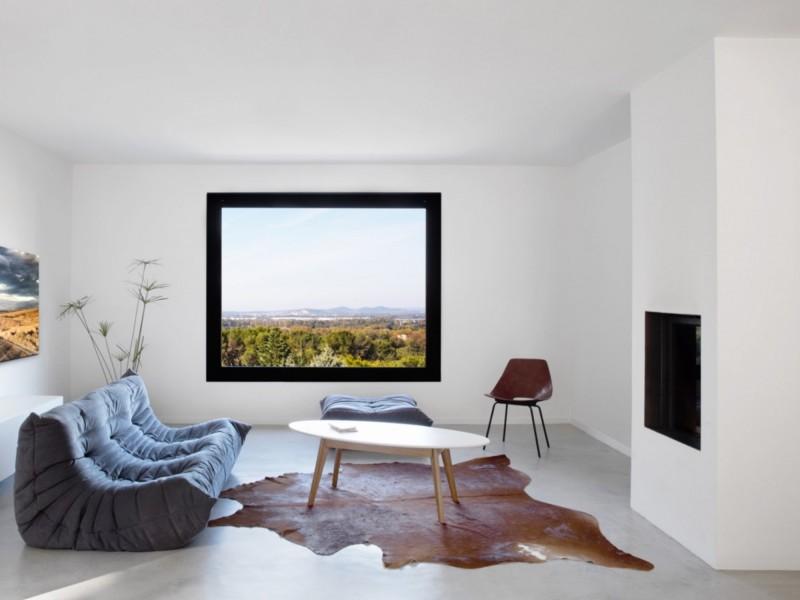 villa avec décoration scandinave pour prises de vues