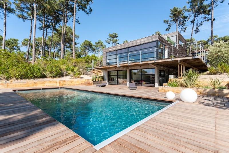 maison moderne pour tournage cap-ferret