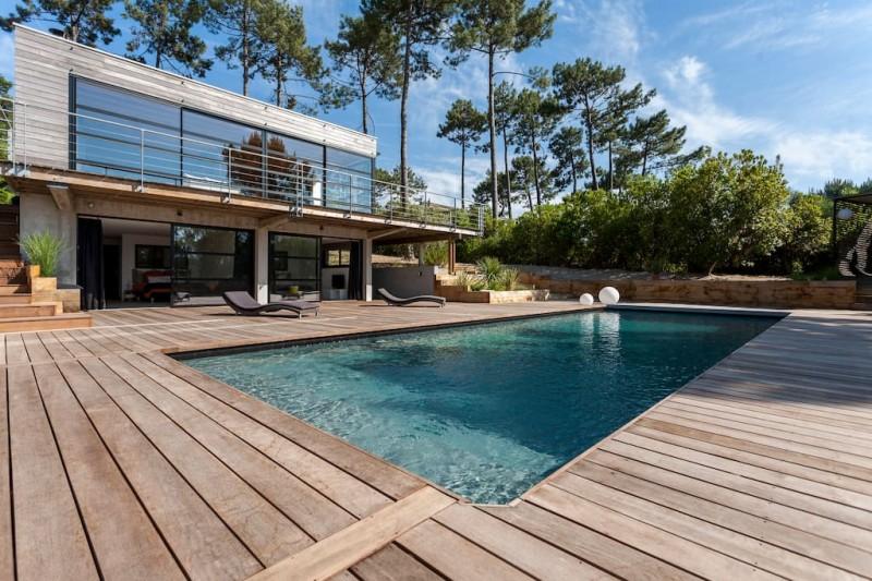 villa contemporaine pour shooting photo