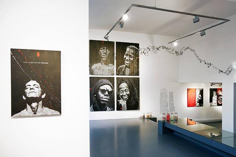 décor contemporain pour production photo, Lille