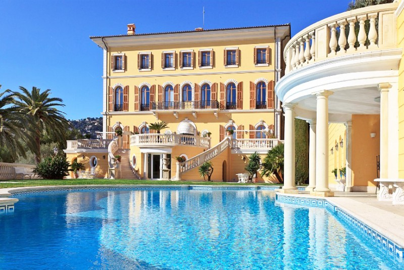 luxury rental for a photo production, french riviera