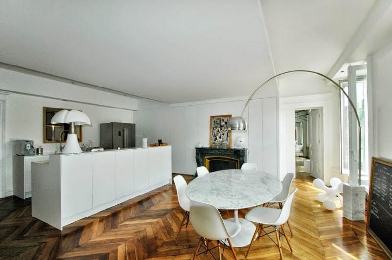 Louer un appartement contemporain avec vue quais pour photos Lyon
