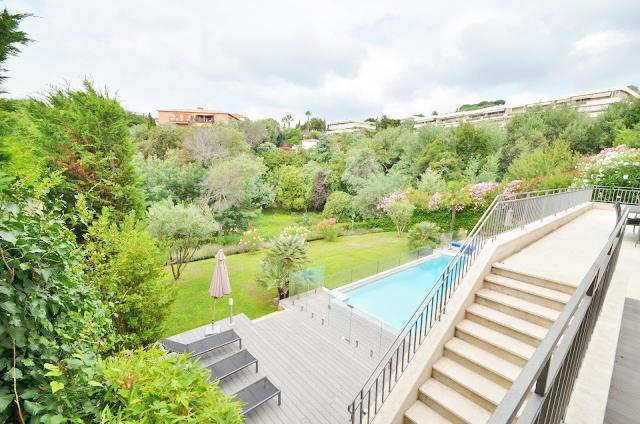 Louer une villa sur Cannes pour des productions photos