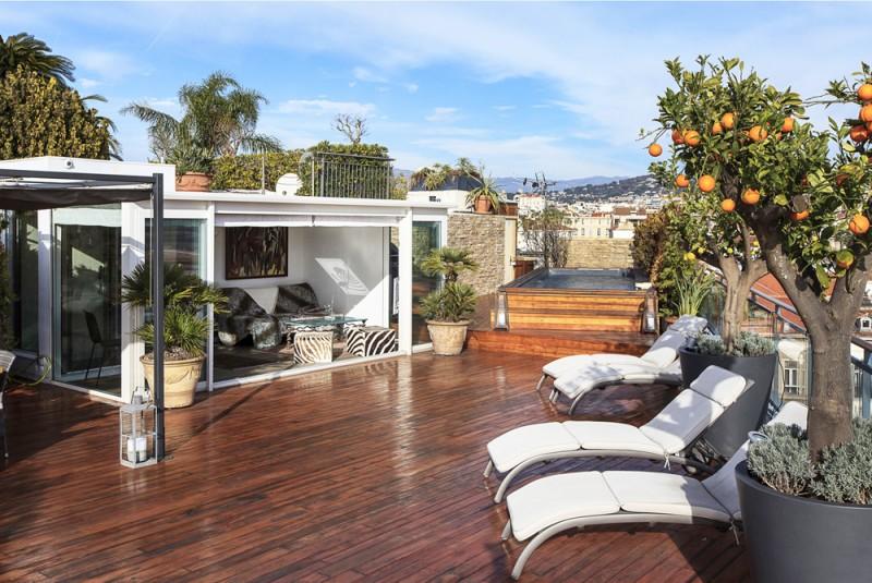 louer un penthouse sur Cannes pour des productions photos