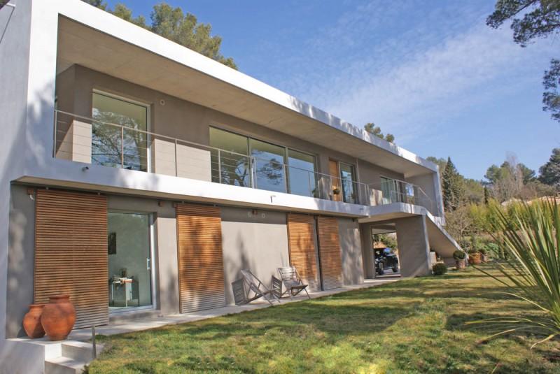 Maison contemporaine pour shooting photo, Aix-en-Provence