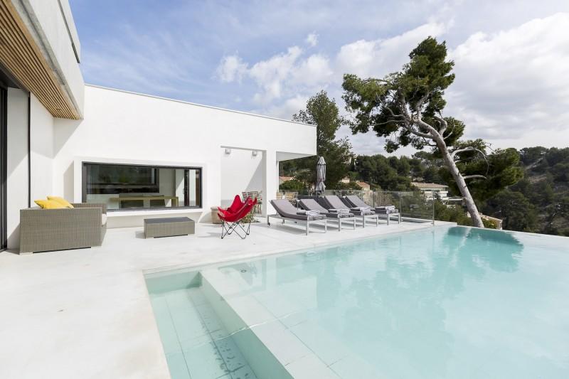 villa contemporaine en location pour tournage marseille