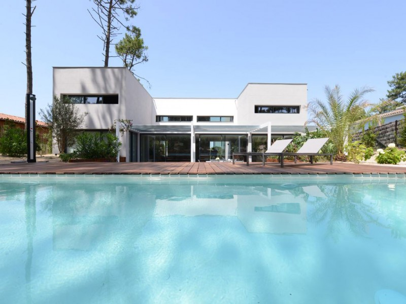 villa contemporaine à louer pour tournage