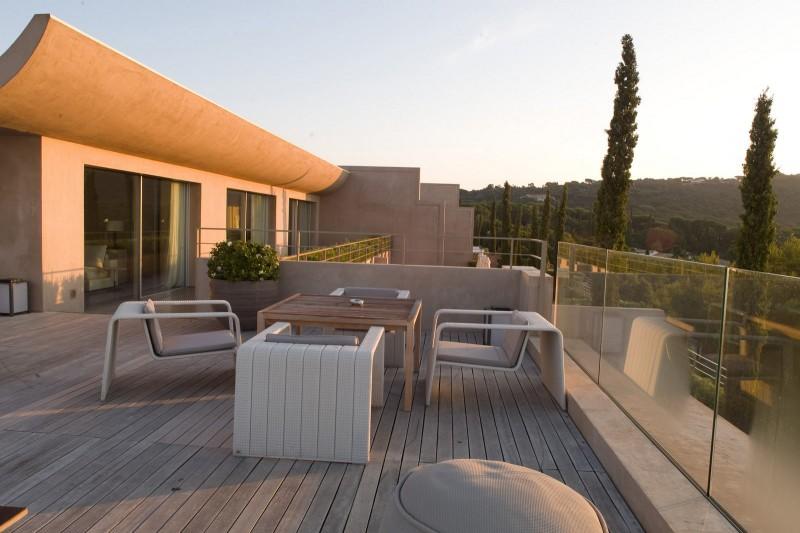 terrasse vue mer panoramique pour mobilier de jardin