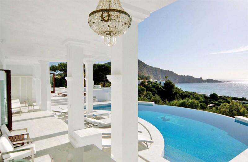 maison moderne pour tournage Ibiza, Espagne