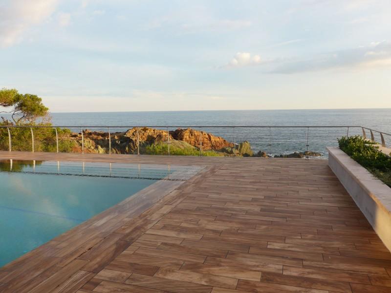 villa contemporaine avec vue mer pour prises de vues
