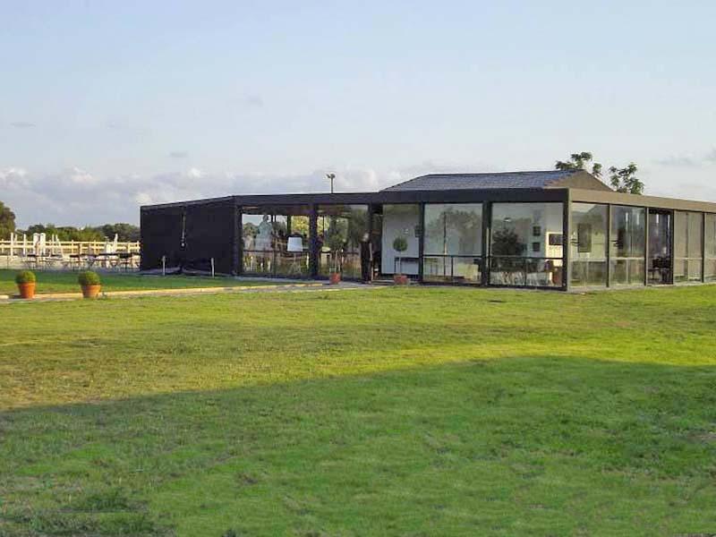 maison contemporaine pour lancement de produit