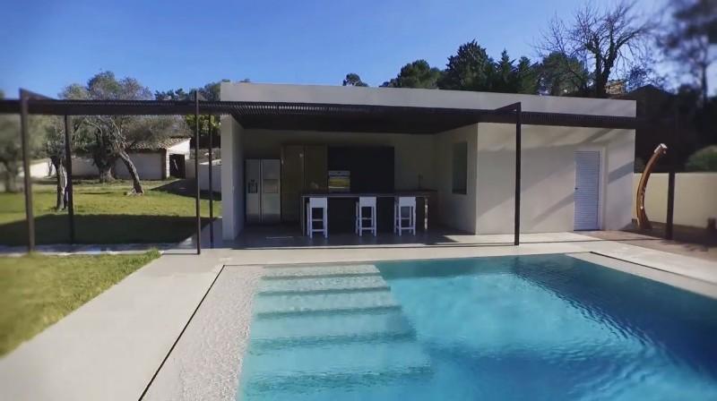 villa très contemporaine pour le cinéma
