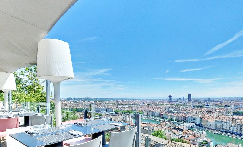 lieu avec vue panoramique pour production photo Lyon, Rhône Alpes