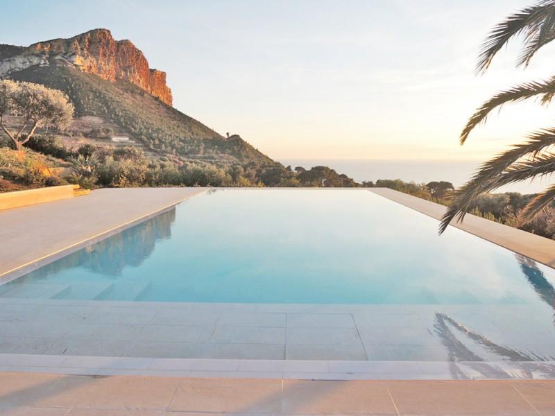villa avec vue mer pour prises de vues