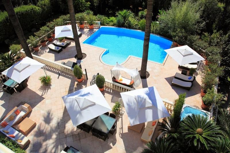 villa belle epoque dans le sud de la france pour prises de vues photos Cannes