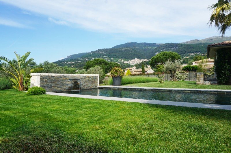 villa contemporaine tournage