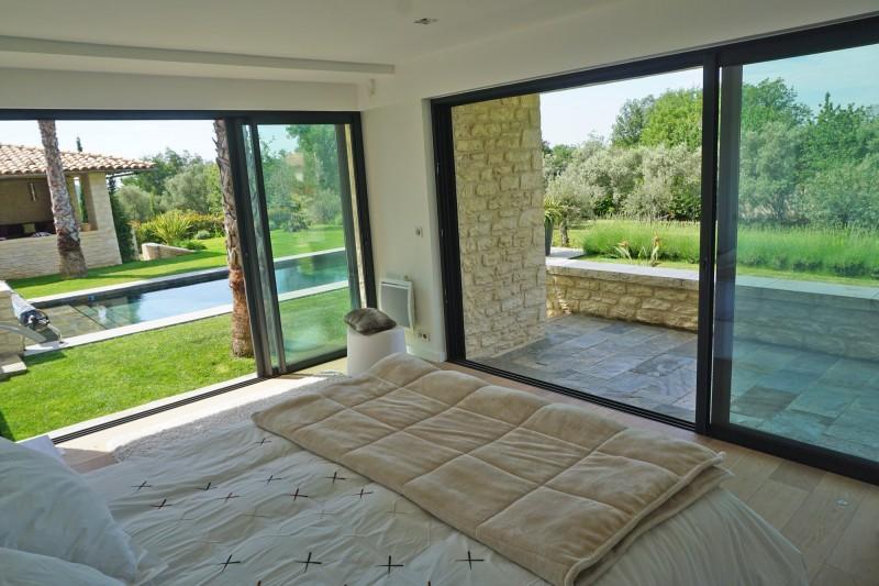 villa contemporaine pour photo