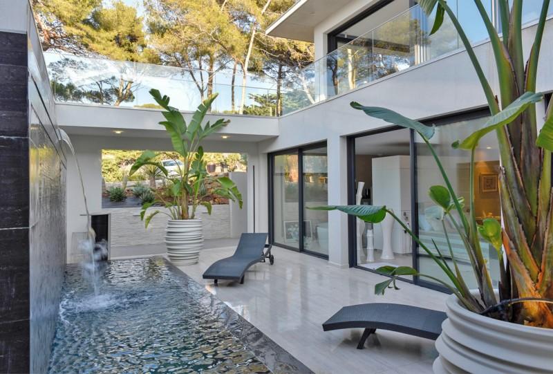 maison contemporaine pour tournage paca