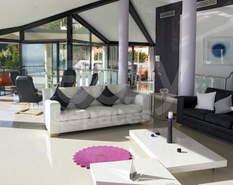 location villa contemporaine pour production photographique nice
