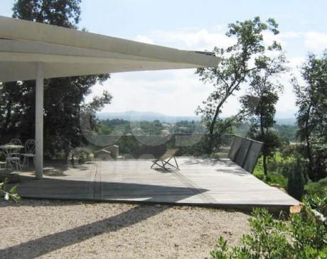 terrasse de maison d ' archi à louer pour tournages à aix ou marseille