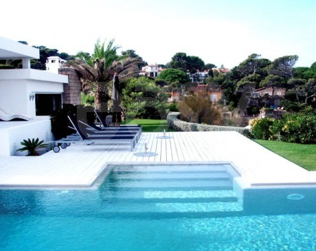 location de maison  pour productions photos a saint tropez