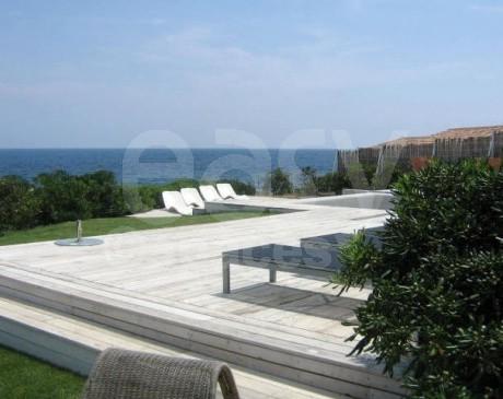 louer une villa avec piscine vue mer saint tropez les issambre var