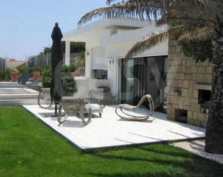 location villa contemporaine pour production photo a Saint tropez
