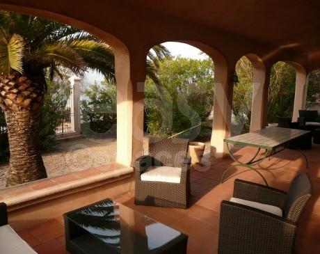 terrasses ombragées pour photoshoot