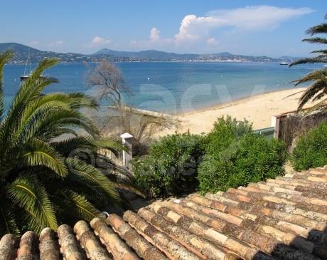 vue de l ' étage sur le Golfe de Saint-Tropez