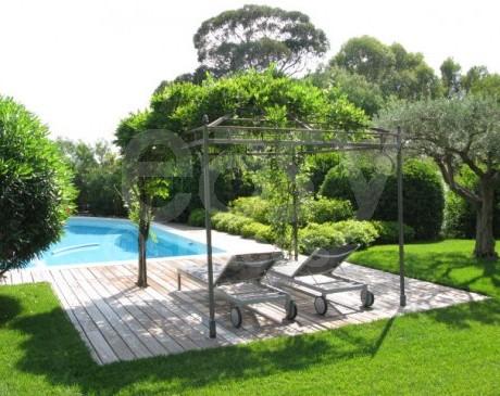 Maison avec piscine et jardin à louer photo  Saint-Tropez var 83