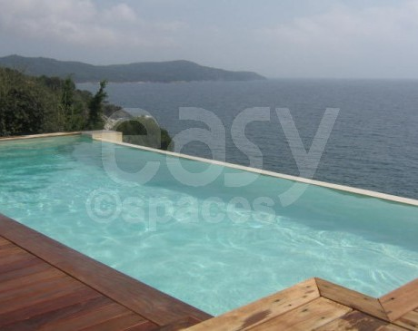 location maison avec piscine pour production photo saint tropez paca