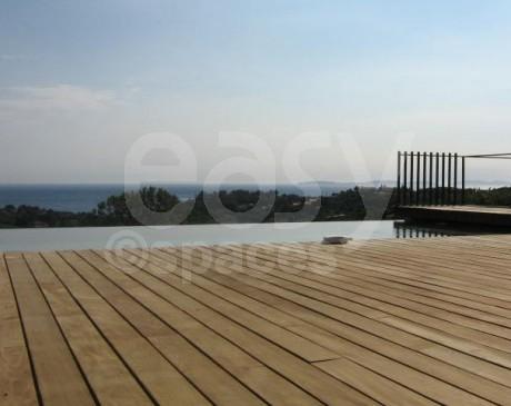 Location villa d'architecte pour production photo a Saint - Tropez