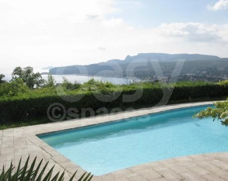 Location de villa avec piscine Cassis 13