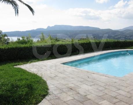 Villa avec jardin et piscine à louer pour prises de vues et tournages Cassis Marseille 13