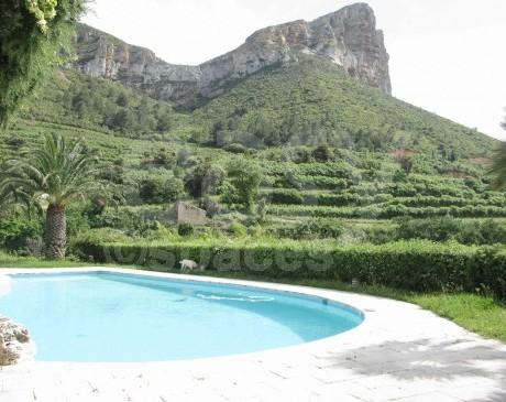 Piscine avec avec jardin Marseille 13 Bouches du rhone cassis