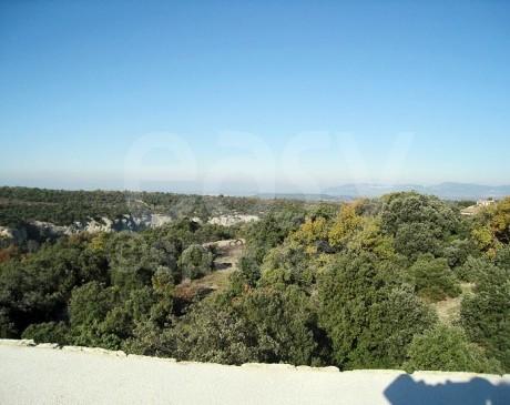 location de villa vue dégagée sur campagne au coeur du Lubéron