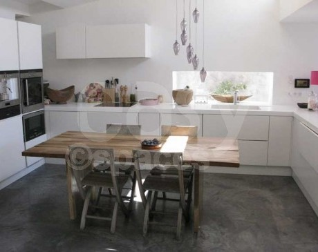 cuisine ouverte maison moderne en location marseille sud france