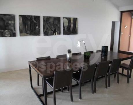 salle à manger villa de luxe saint-tropez france