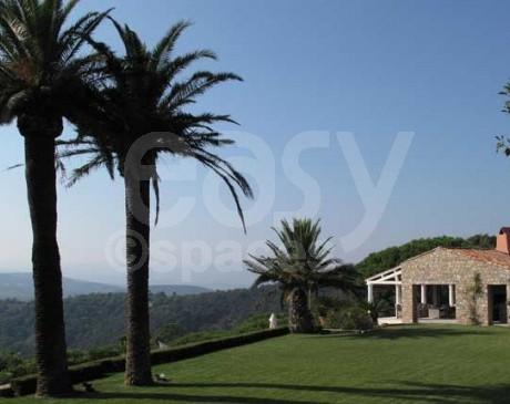 locations maison de luxe  pour tournages dans le sud de la france saint tropez