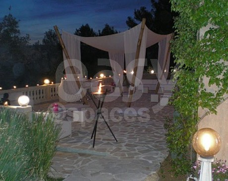 Location de salle avec sauna et piscine intérieur et extérieur dans le sud de la france à Cannes
