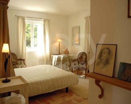 location de villa avec piscine et grand terrain pour publicite Luberon